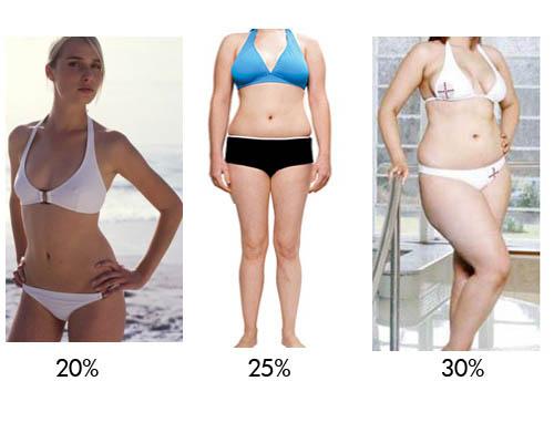 процент жира у женщин 2