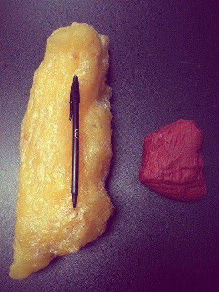 килограмм жира и килограмм мышц