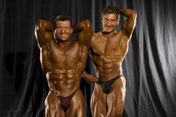 Александр (1952г.р.) и Дмитрий (1977г.р.) Яшанькины