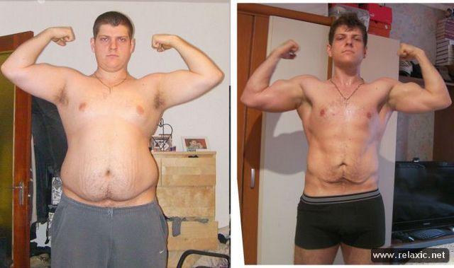 человек похудел поднимая тяжести