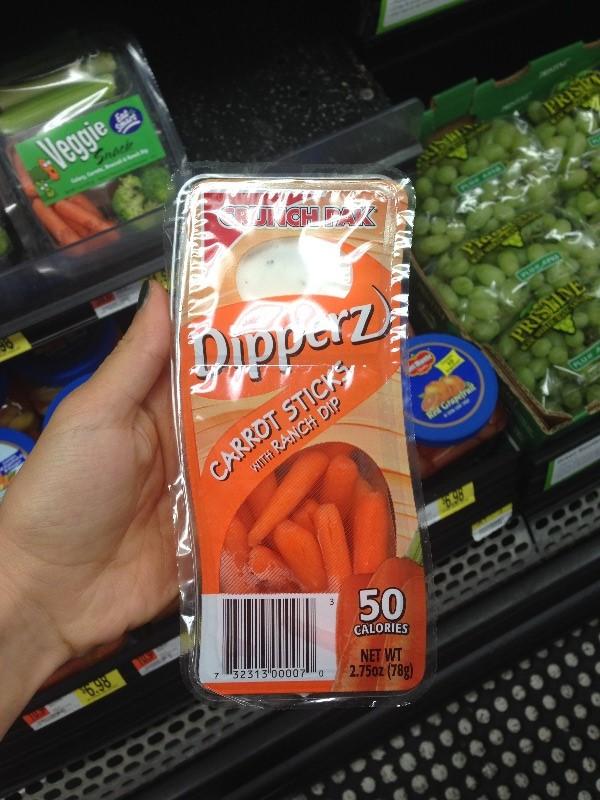 морковка, готовая к употреблению