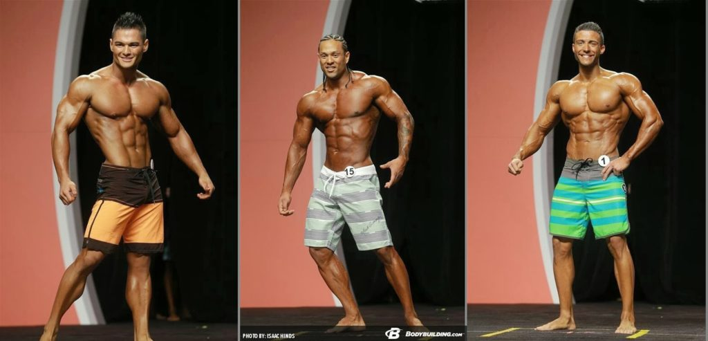 Physique Olympia 2013 -Mark Anthony Wingson, Jeremy Buendia, Matt Acton