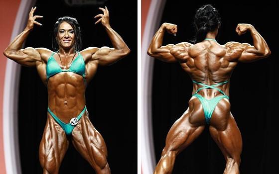 Алина выглядит как будущая чемпионка
