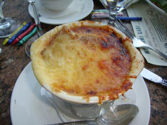 """суп в ресторане """"Mon Ami Gabi"""""""