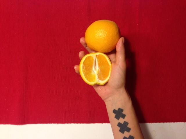 Как выглядит 100 ккал в апельсинах
