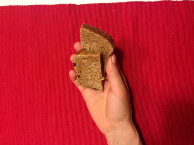 Как выглядит 100 ккал хлебом