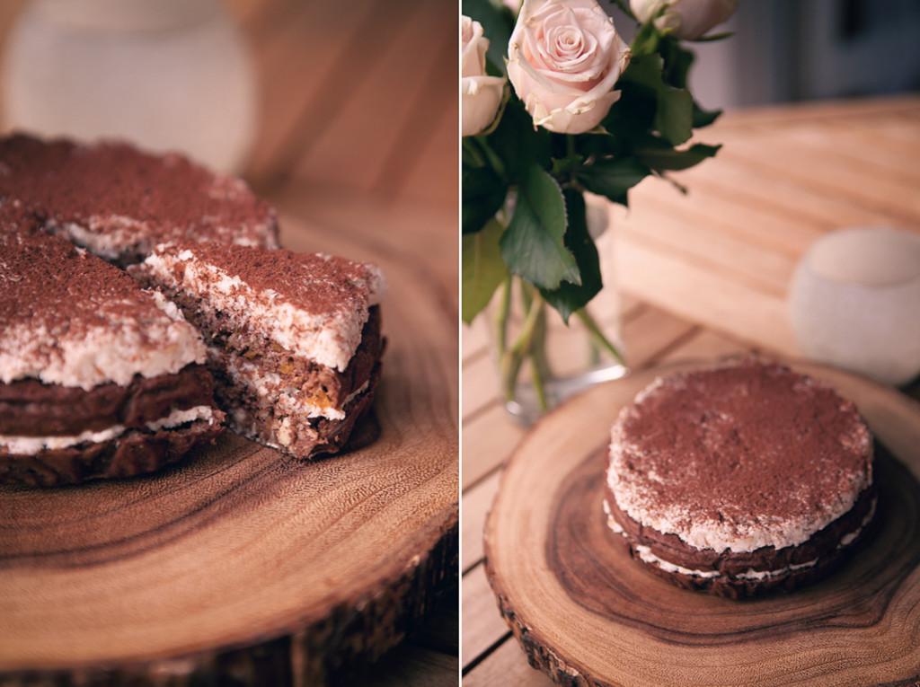 шоколадный торт зожник
