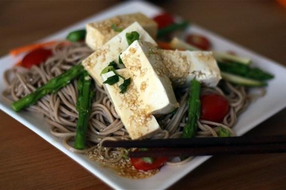 гречневая лапша зожник с тофу