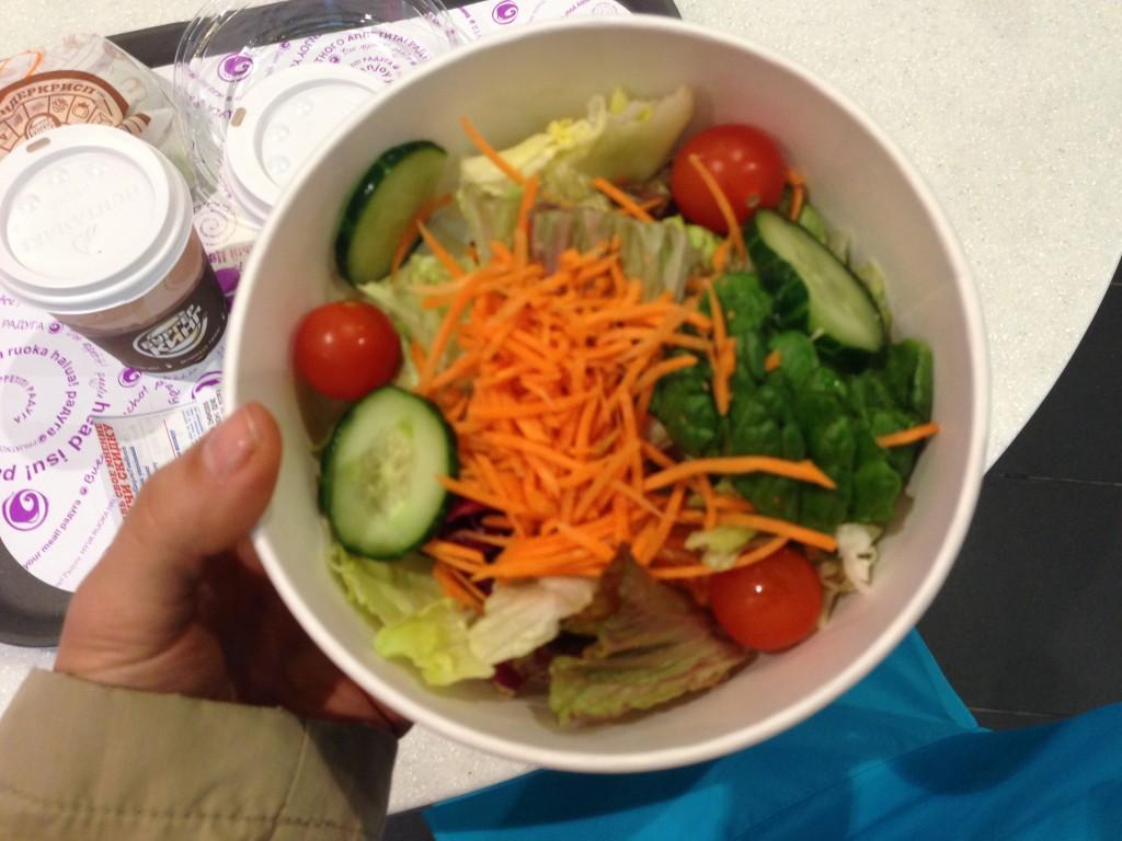 Салат цезарь из бургер кинг калорийность