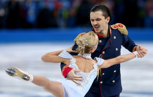 10. Tatiana Volosozhar and Maxim Trankov of Russia