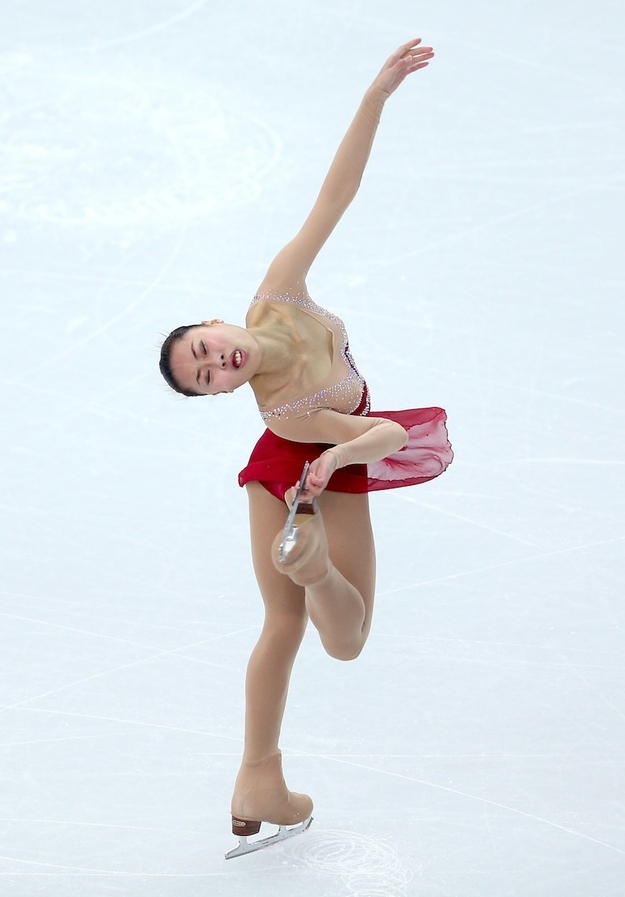 8. Kexin Zhang of China