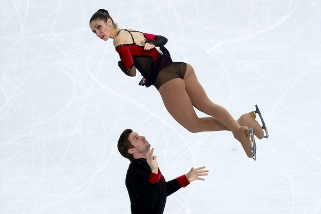 9. Ondrej Hotarek and Stefania Berton of Italy