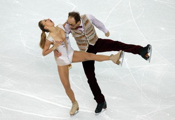 Nelli Zhiganshina and Alexander Gazsi of Germany