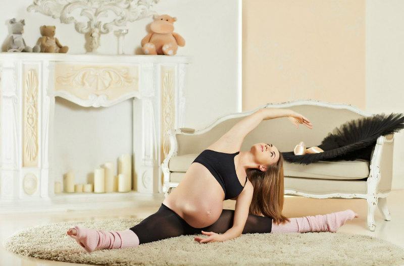 попрет беремен
