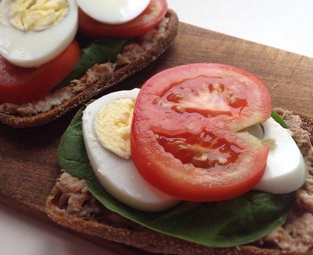 сэндвич с тунцом fit frau зожник
