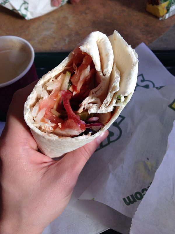 Как зожно есть в Subway
