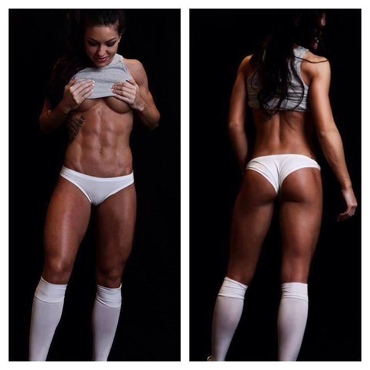 фото девушек для похудения спортивное телосложение рыжая