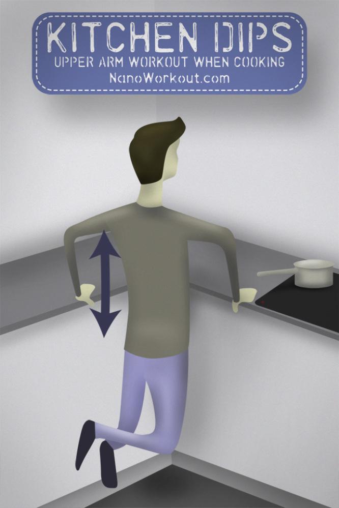 нано тренировки - трицепс