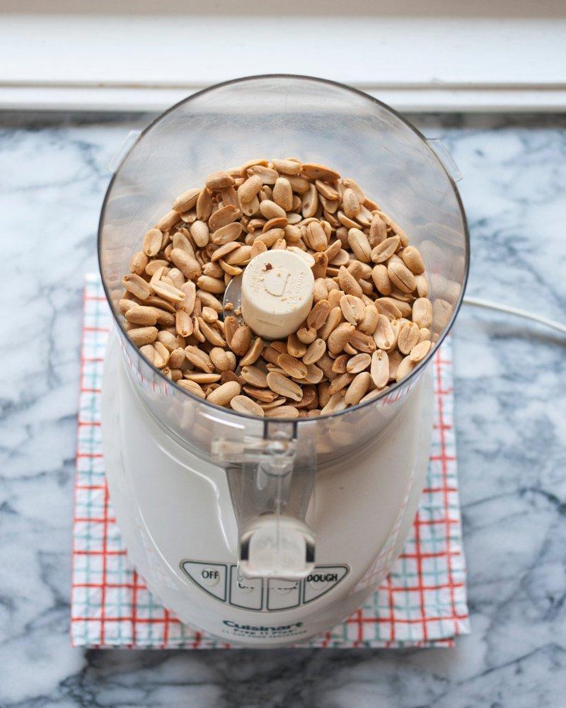 Как сделать арахисовую пасту дома