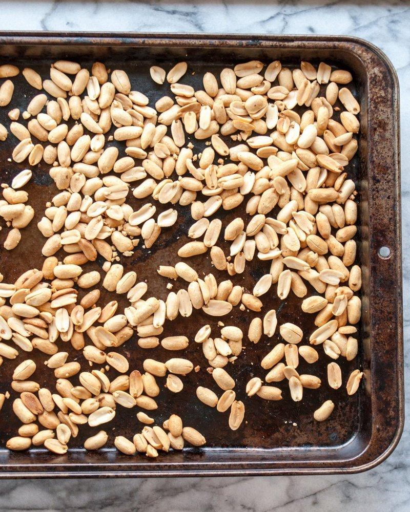 Рецепт. Как приготовить арахисовую пасту дома. Жарка