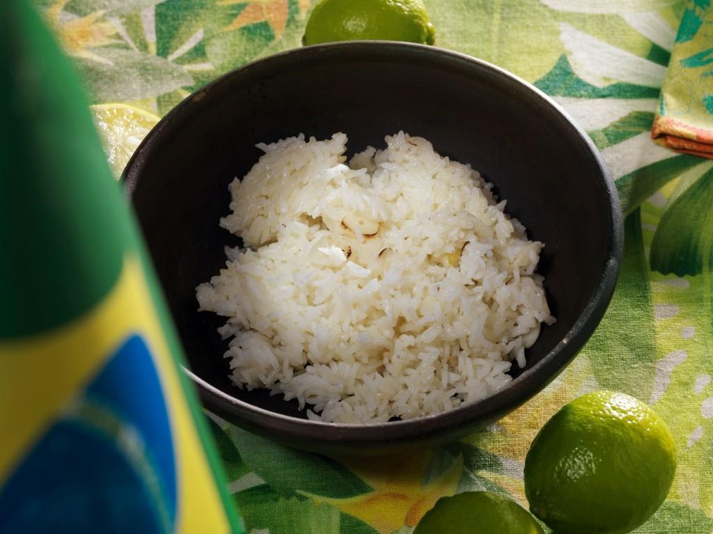 рис чесночный