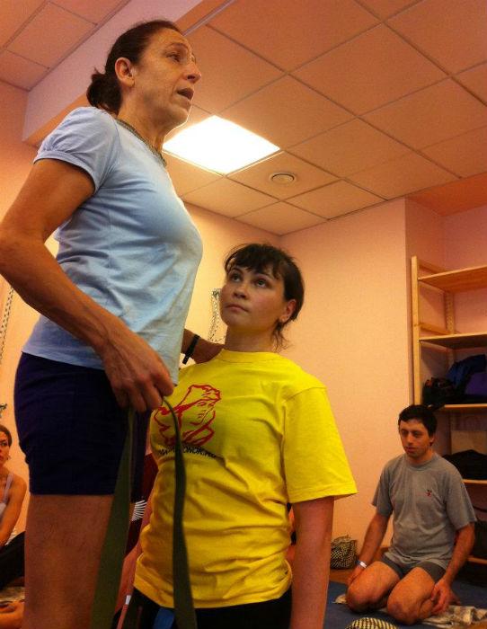 Gabriella Giubillaro_yoga class