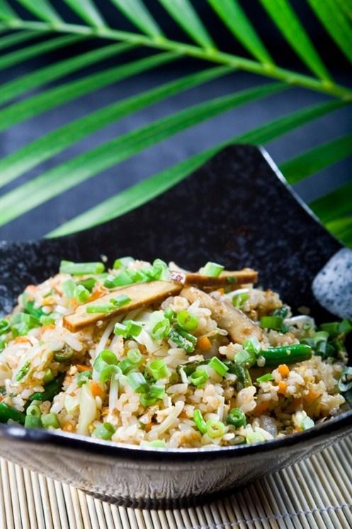 рис с яйцом зожник