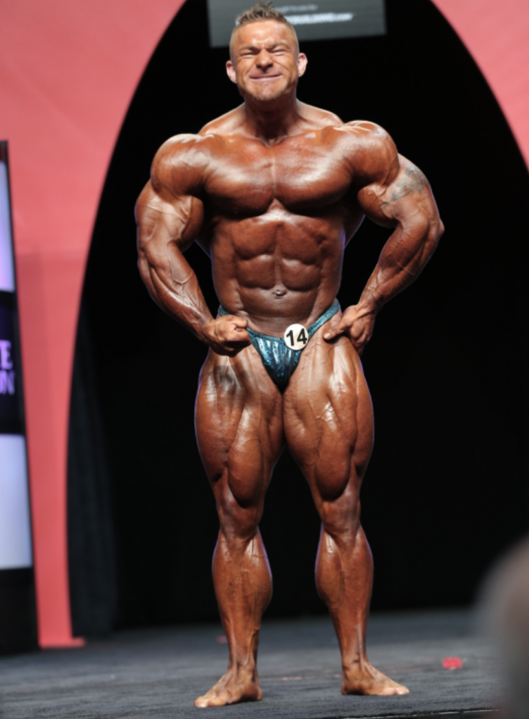 Men's Bodybuilding: James Flex Lewis