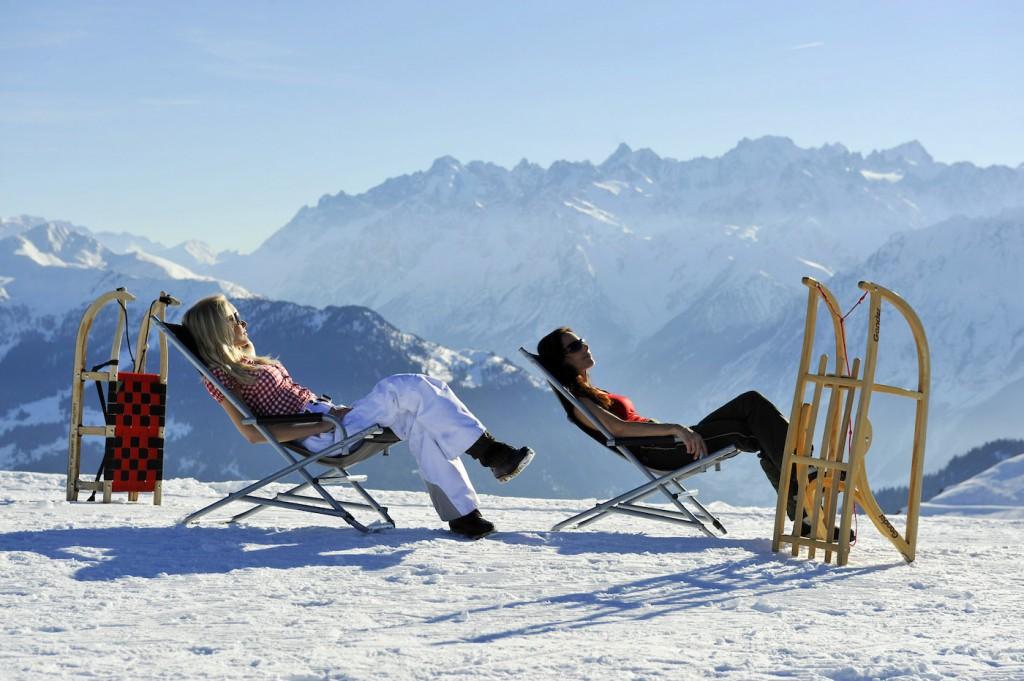 Wallis: Schlitteln im Kanton Wallis