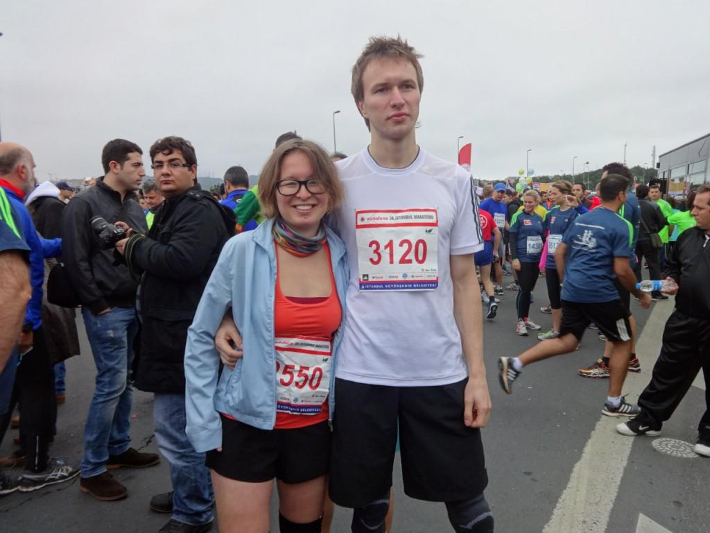 Виктория Шевченко на турецком марафоне