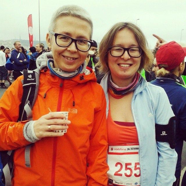 Виктория Шевченко вместе с мамой