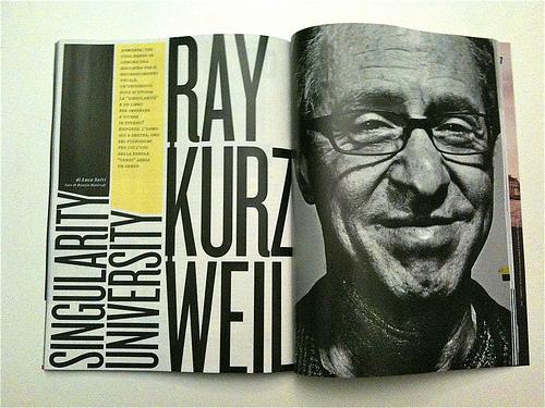 Wired article: Ray Kurzweil,  Singularity University
