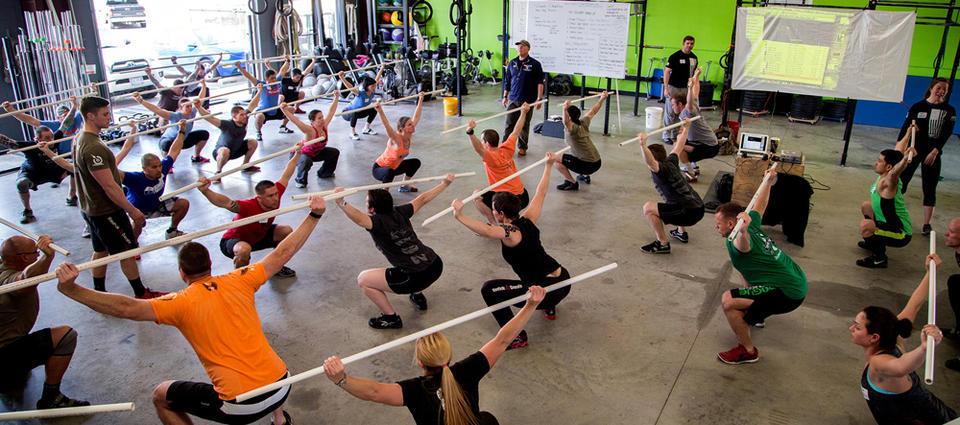 Упражнения в кроссфите названия и схемы