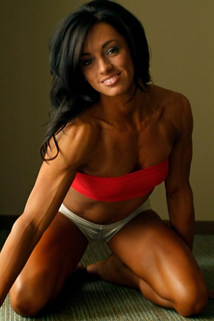 Девушка мускулистые ноги фото