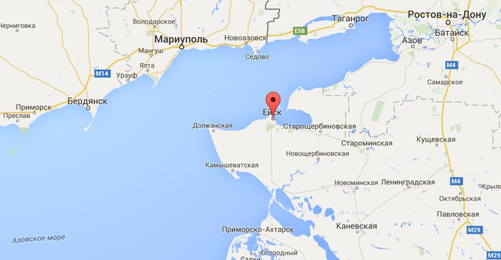 Ейск - одна из столиц кайтинга, виндсерфинга и вейкбординга России
