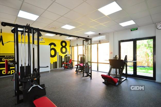 Фитнес-студия клуба «Берег»