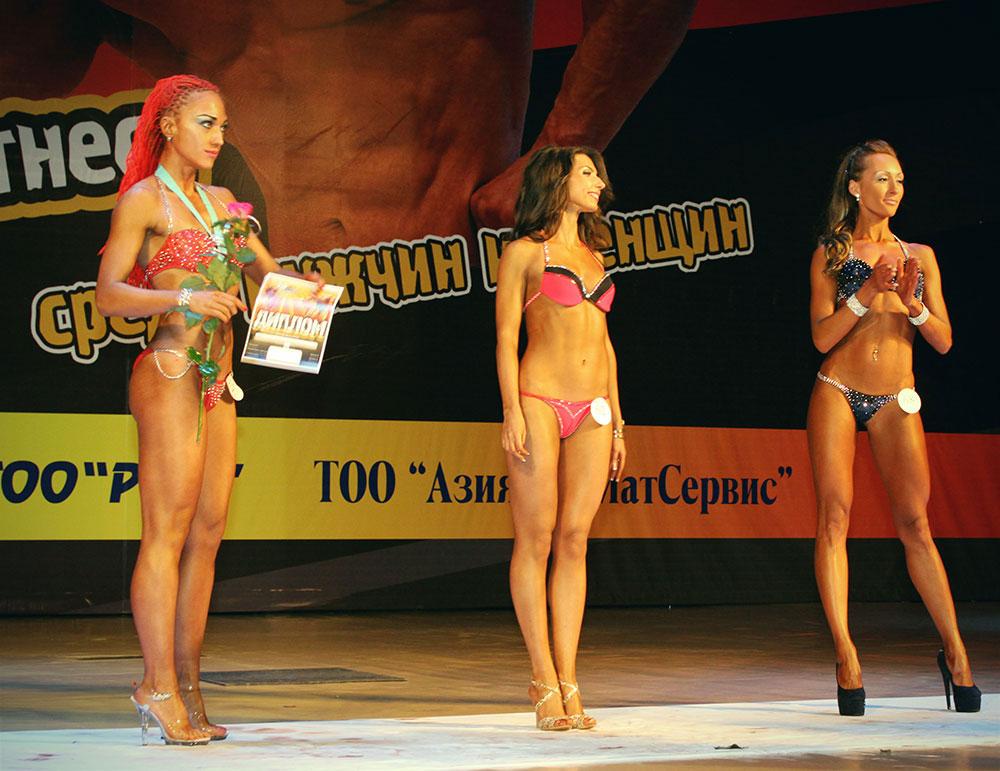 Три финалистки. Ярослава стала третей