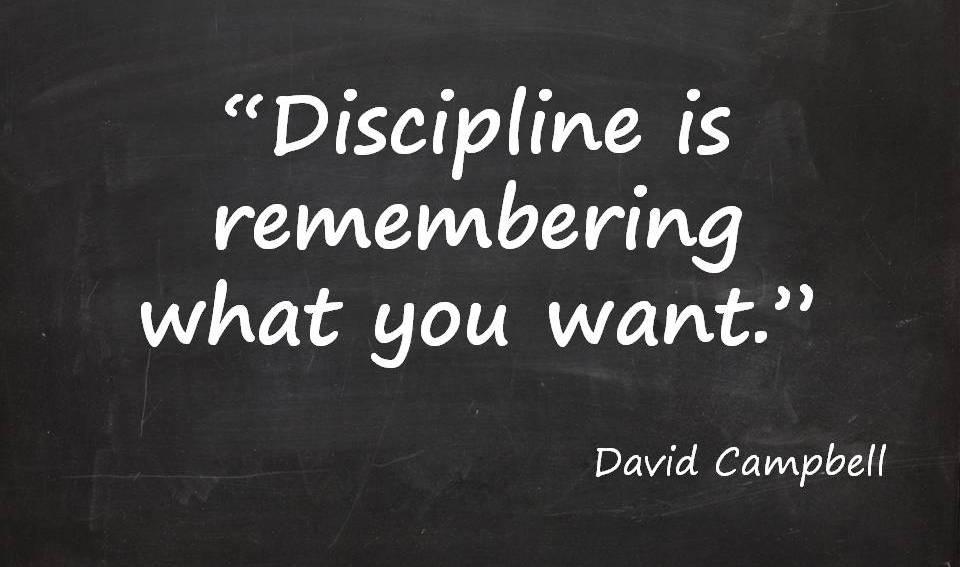 Discipline-is