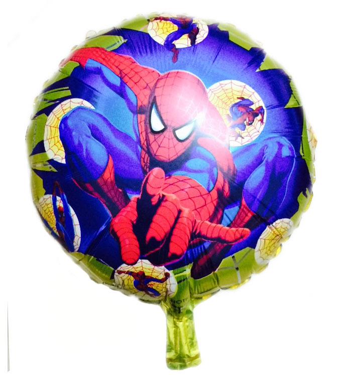 Free-Shipping-New-Arrival-18inch-Round-SpidermanFoil-font-b-Balloons-b-font-For-Wedding-Birthday-Party