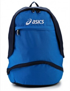 asics рюкзак синий
