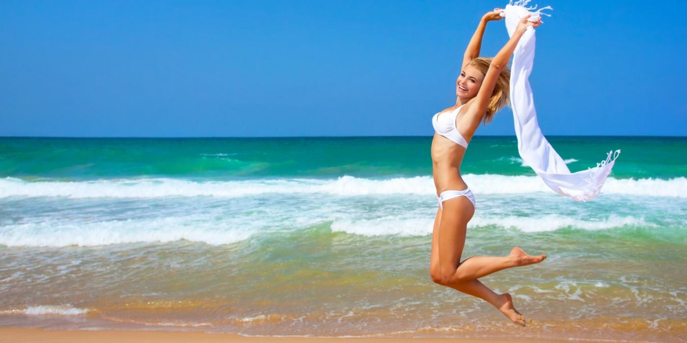 Тело девушки на пляже 17 фотография