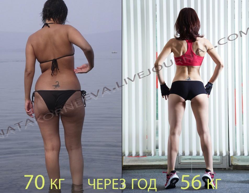 эффект от приседаний для девушек фото до и после