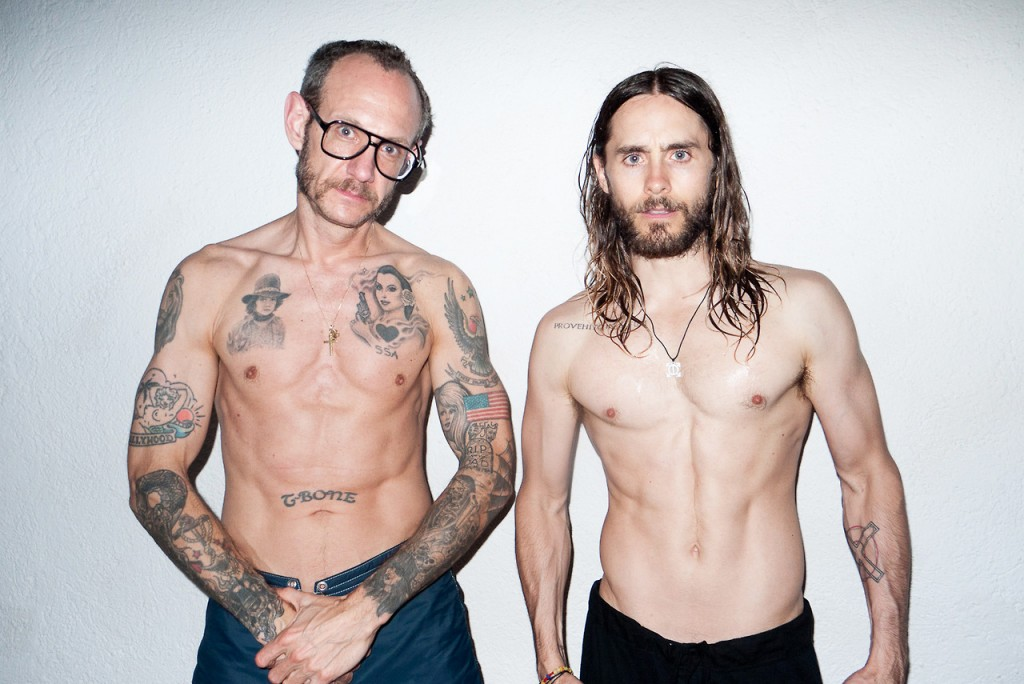 Best-Fashion-Photographers-In-The-Industry-Terry-Richardson-and-Jared-Leto