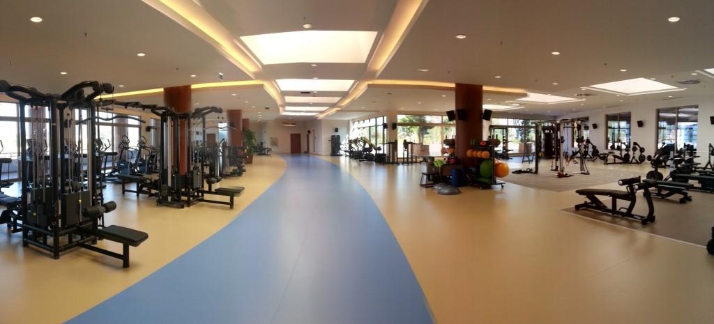Фитнес-центр в Gloria Sports Arena