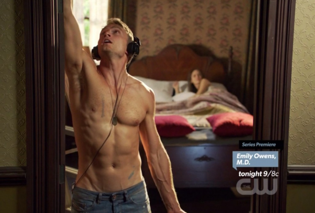 Wilson Bethel in Hart of Dixie Episode 2.03
