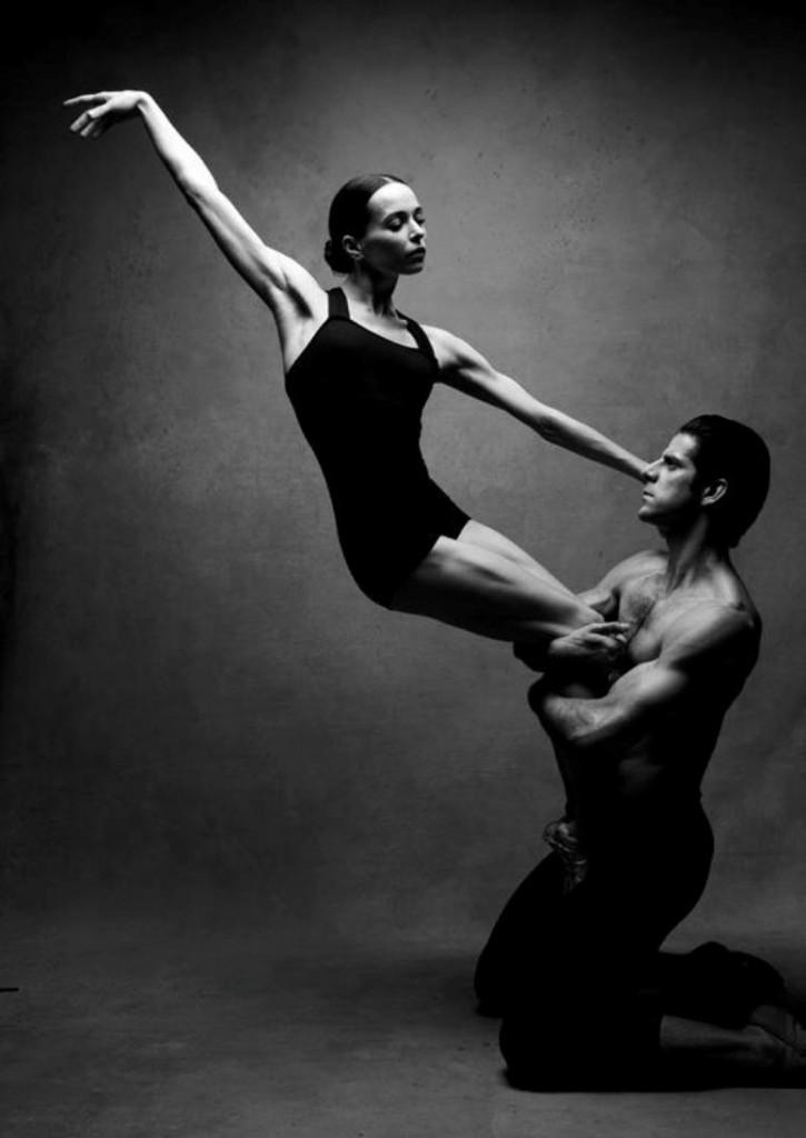 Диана Вишнева и Marcelo Gomes.