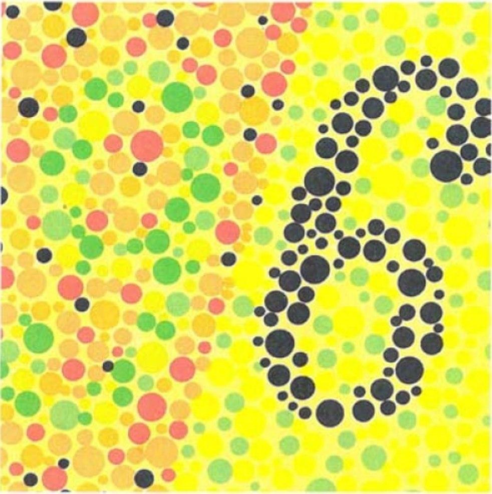 цветные картинки для проверки зрения у офтальмолога вариант камина