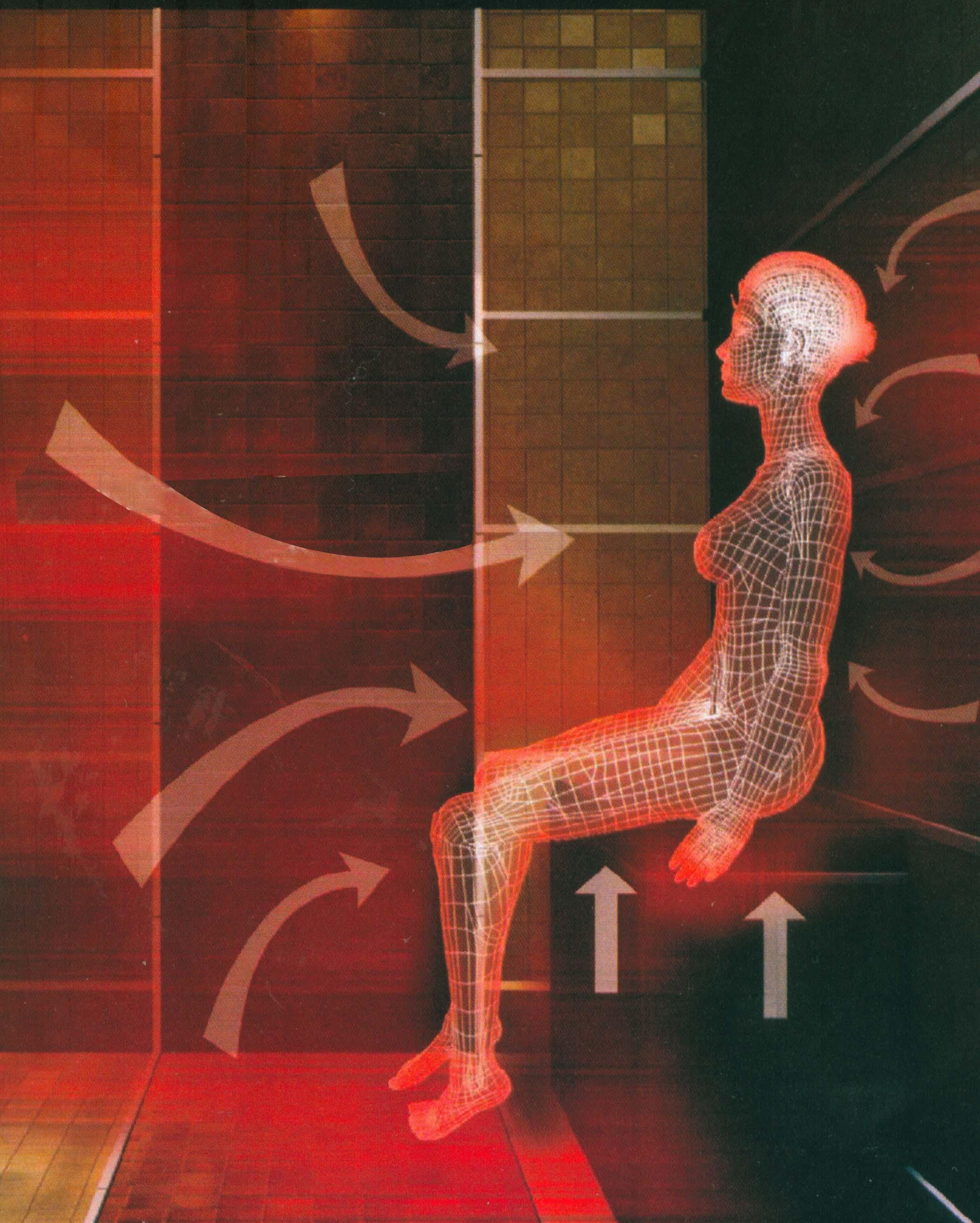 Инфракрасная сауна нагревает вас изнутри, впрочем,  ученые утверждают, что это безопасно для здоровья