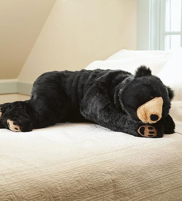 спальник-медведь