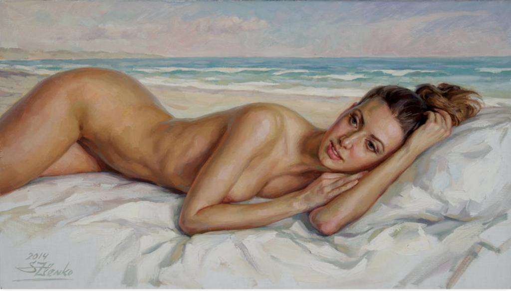 Serguei Zlenko. On The Beach